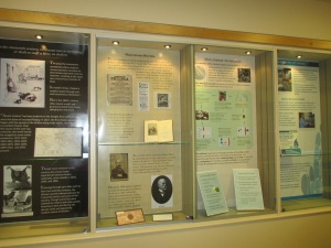 Cholera Exhibit PHOTO