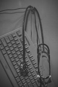 keypad&stethoscope