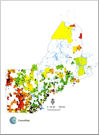 Torbick et al. Mapping amyotrophic lateral sclerosis lake risk factors across northern New England. International Journal of Health Geographics 2014, 13:1 http://www.ij-healthgeographics.com/content.13/1/1